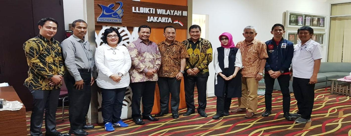 Kunjungan ke LLDIKTI Wilayah III Jakarta